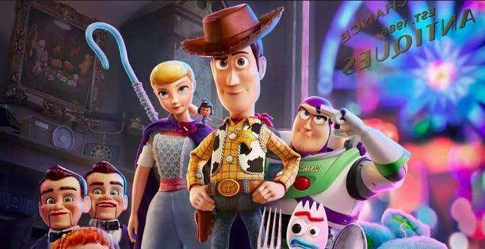 """17 """"Toy Story 4"""" Tweets That'll Make You Laugh Through Your Tears"""