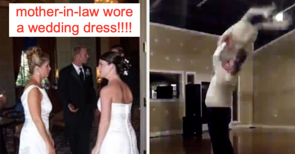 Wedding Dress Fails.People Are Sharing Wedding Fails And I M Legit Gasping