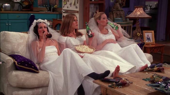 I Am Obsessed With Monica, Rachel, And Phoebe Still Hanging Out In 2019