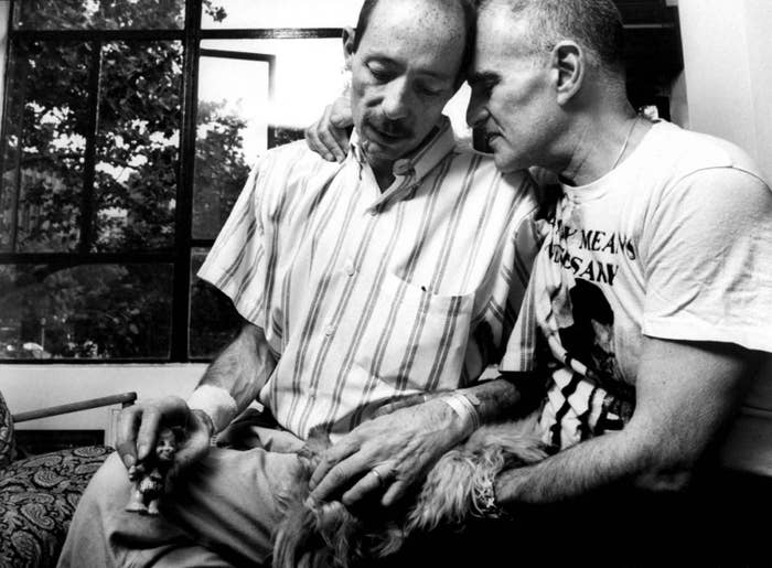 These Harrowing Pictures Capture The War Against The AIDS Crisis