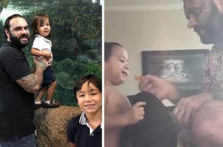 f24f4bd3 Parents Are Beating Their Toddler's Stuffed Animals To Coerce Kids To Eat,  But One Dad Has Had Enough.