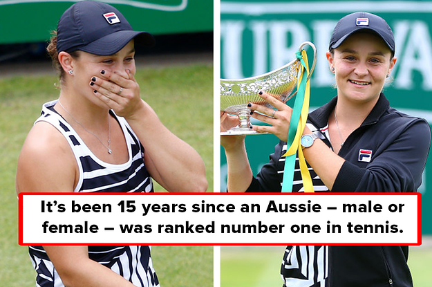 Ash Barty Just Became The Number One Tennis Player In The World – Heres How
