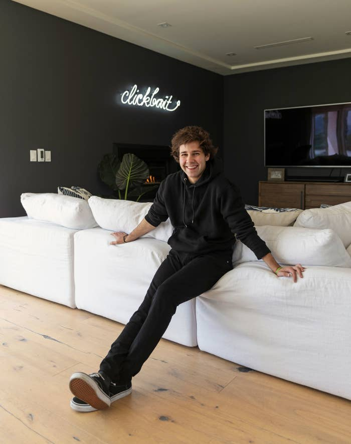 17 Things I Learned About David Dobrik After Watching A Tour Of His House