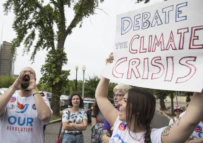This Science Advocacy Group Wants To Defy The Democratic Party's Ban On A Climate Change Debate