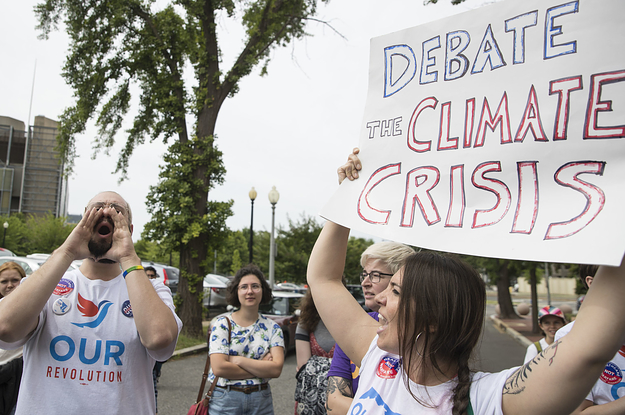 A Science Group Is Offering $100,000 To Host A Democratic Climate Change Debate Despite A DNC Ban