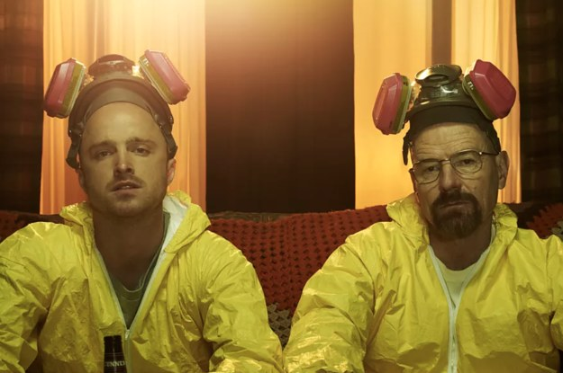 """Everyone Is Guessing What These Identical Tweets From Aaron Paul And Bryan Cranston Might Mean About The """"Breaking Bad"""" Movie"""
