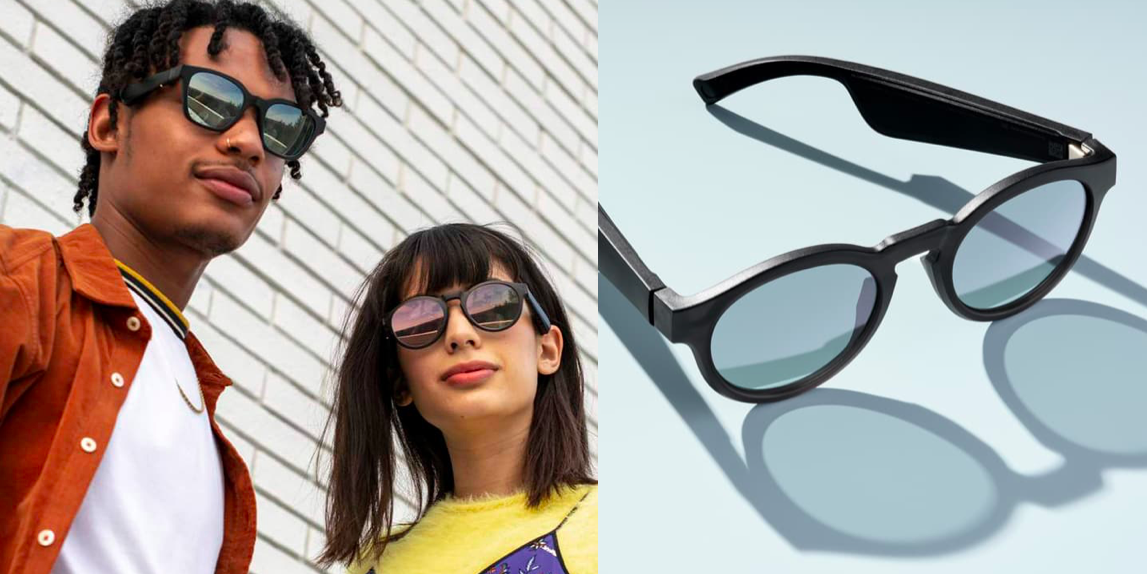 06fc02d9479a These Sunglasses Have Built-In Speakers, And We're Now Living In 3019
