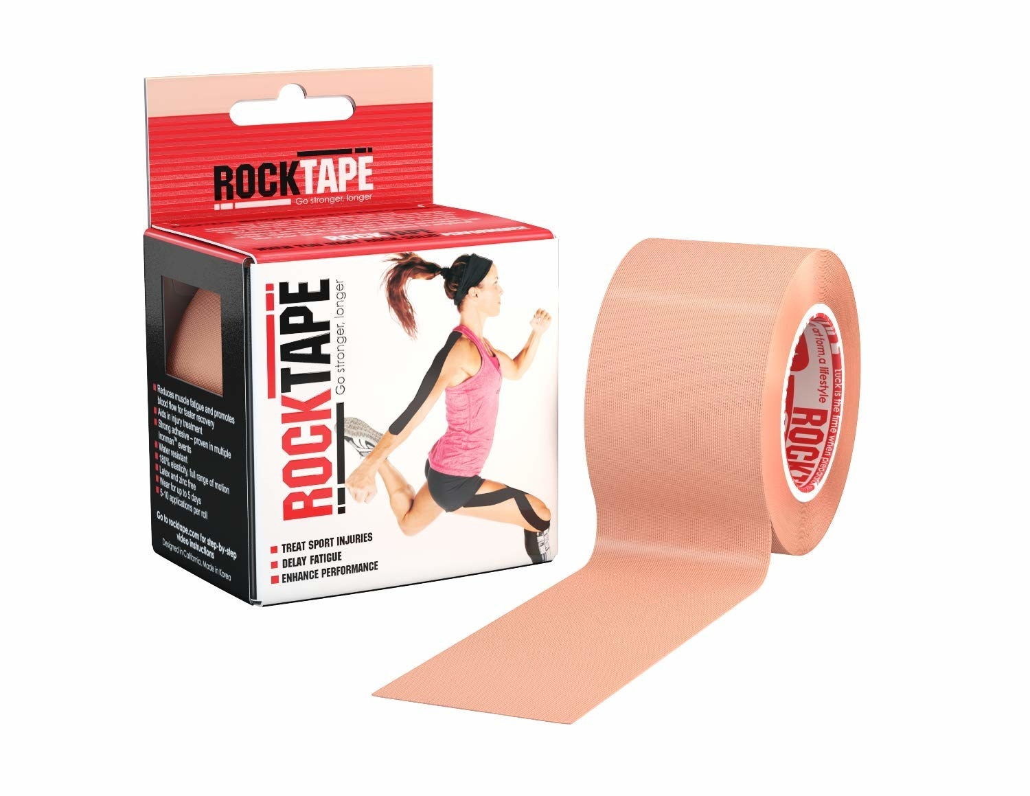 A roll of the tape in nude
