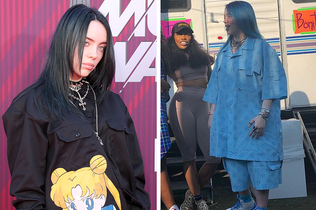 Billie Eilish Explained Why She Wears Clothes 800 Sizes Bigger Than She Is Days After She Was Objectified On Twitter