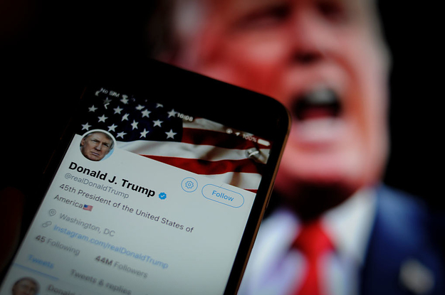 Trump Tweets That Violate Twitter's Rules Will Now Get A Warning Label