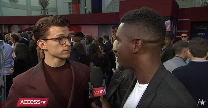 This Video Of Tom Holland Rescuing A Fan From Being Squashed