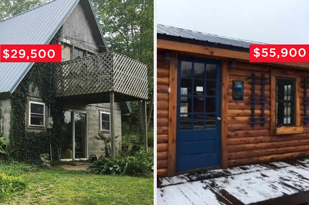 21 Cabins For Sale That Aspiring Homeowners Can Actually Afford