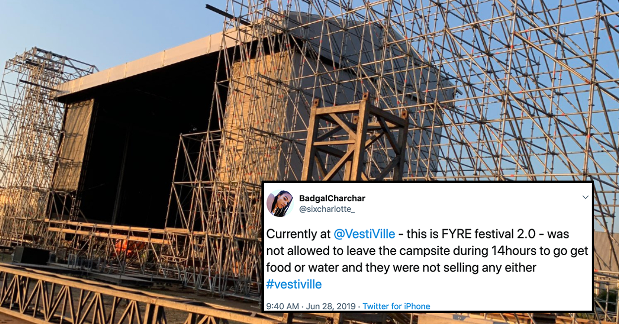 A Music Festival In Belgium Was Cancelled In Disarray And People Are Calling It Fyre Fest 2.0