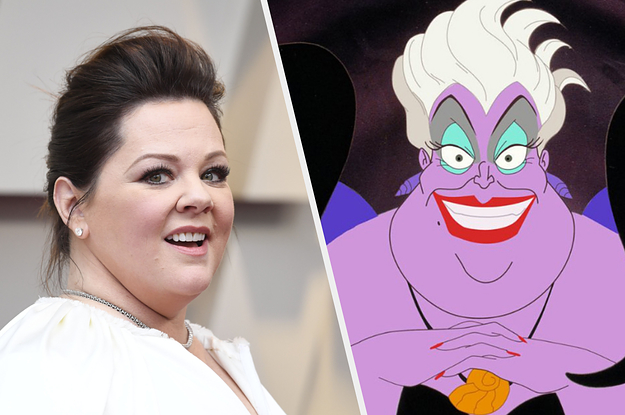 """The Internet Has Mixed Feelings About Melissa McCarthy Playing Ursula In Disney's Live-Action Remake Of """"The Little Mermaid"""""""
