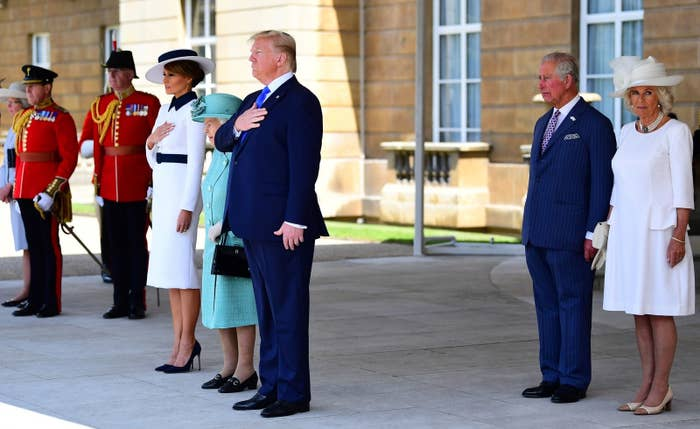 Trump Has Said A Bunch Of Things About The Royal Family That Could Make The State Banquet A Little Awkward
