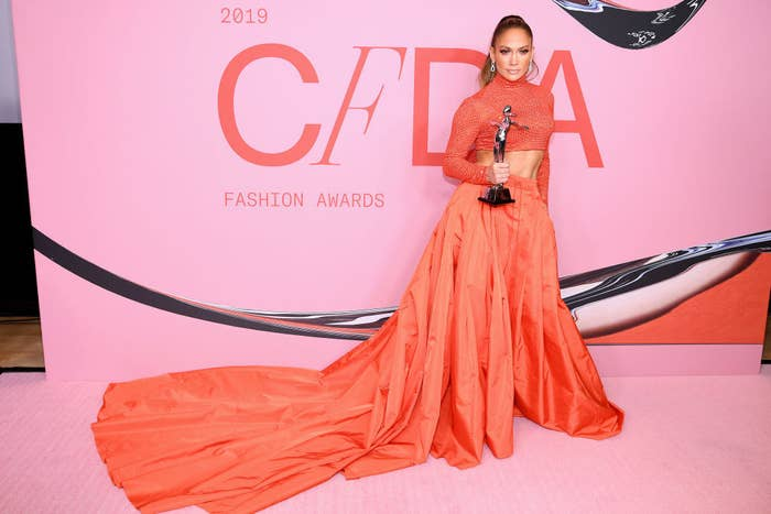 Here's Why J.Lo Received The Style Icon Award From The CFDA