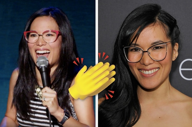 Ali Wong's Glasses-Swapping Trick Is Brilliant
