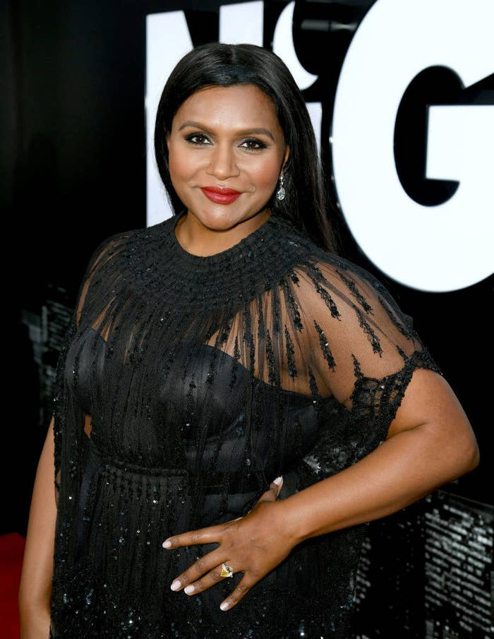 In case you need a crash course in Mindy's badassery: She created, executive produced, and starred in her own TV show, The Mindy Project; she's portrayed and voiced iconic characters, like The Office's Kelly Kapoor and Inside Out's Disgust; and she's penned two New York Times bestselling memoirs.