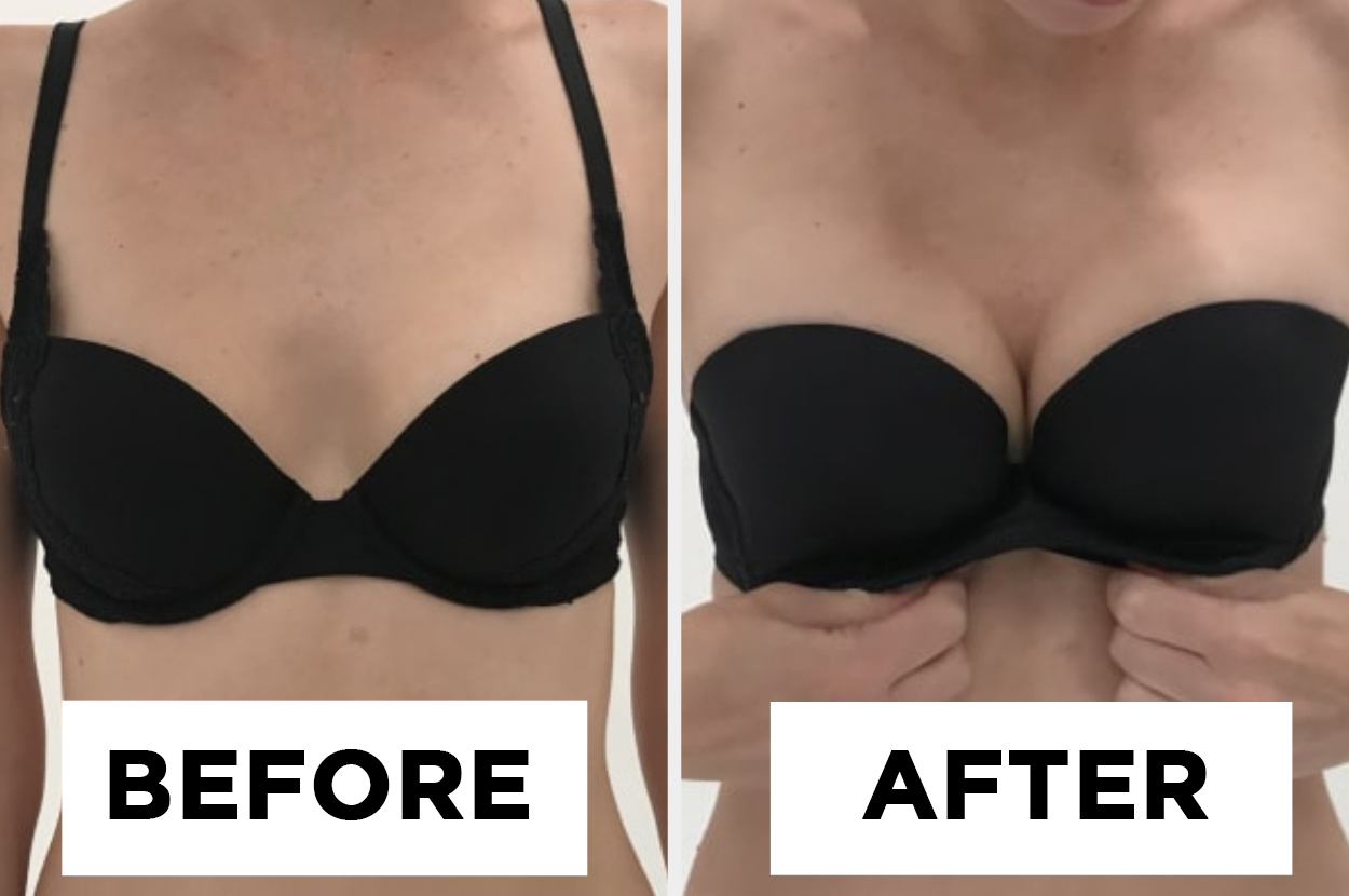 I Tested Out A Push Up Bra That S Marketed Toward Small Boobs To