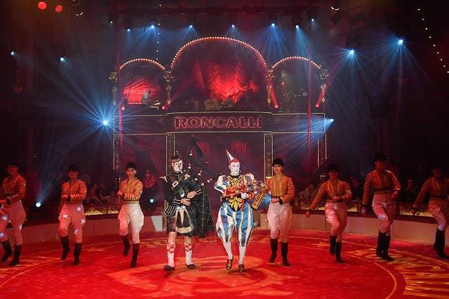клоуны в цирке Ронкалли
