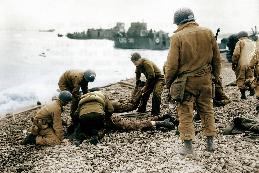 22 Remarkable Color Pictures From The Battlefields Of D-Day