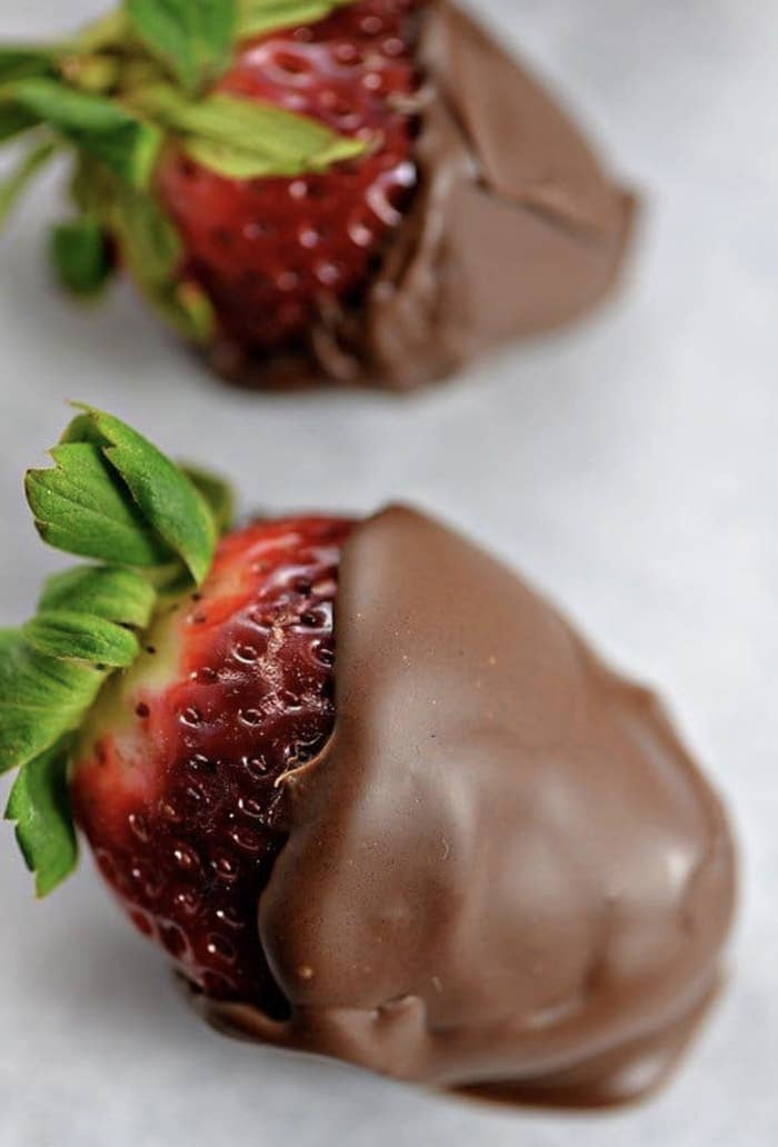 Strawberries are in season, which gives you the perfect excuse to whip up a batch of these for dessert (or an anytime snack).