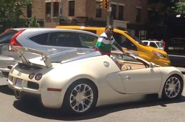 Tracy Morgan And His New $2 Million Bugatti Sports Car Got
