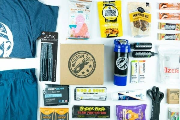 What he'll get: Each box comes with five to seven products to help make the most of his workouts — including training gear, recovery aids, apparel, high-protein snacks, and energy boosters! Clothing is available in M/F sizes XS–2XL.Get it from Cratejoy: $33/month for a six-month subscription, $34/month for a three-month subscription, or $35/month for a monthly subscription.