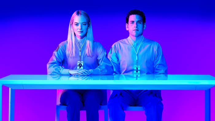 """What it's about:A couple of strangers undergo an experimental medical treatment that promises to cure all of their mental health issues using drugs and technology. But of course, things go very, very wrong.Watch if your favorite Black Mirror episode is...""""Nosedive"""""""