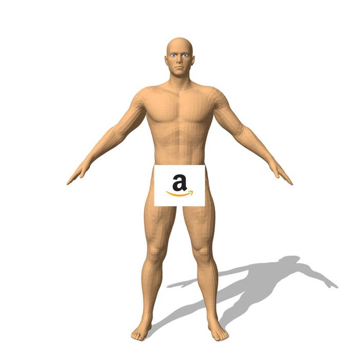 Amazon Is Doing 3D Body Scans And It's Not Entirely Clear
