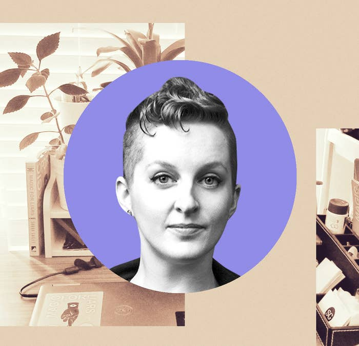 The Author Of One Of The Best Fantasies Of 2019 Walks Us Through Their Writing Space