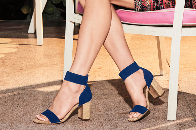 26 Comfy Pairs Of Heeled Sandals You