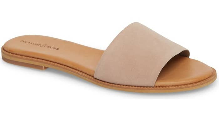 "Promising review: ""Simple and classic. The footbed has a soft and comfortable cushion. They go with so many spring and summer outfits."" —krisN25Get them from Nordstrom for $59.95 (available in sizes 4–13 and six colors)."
