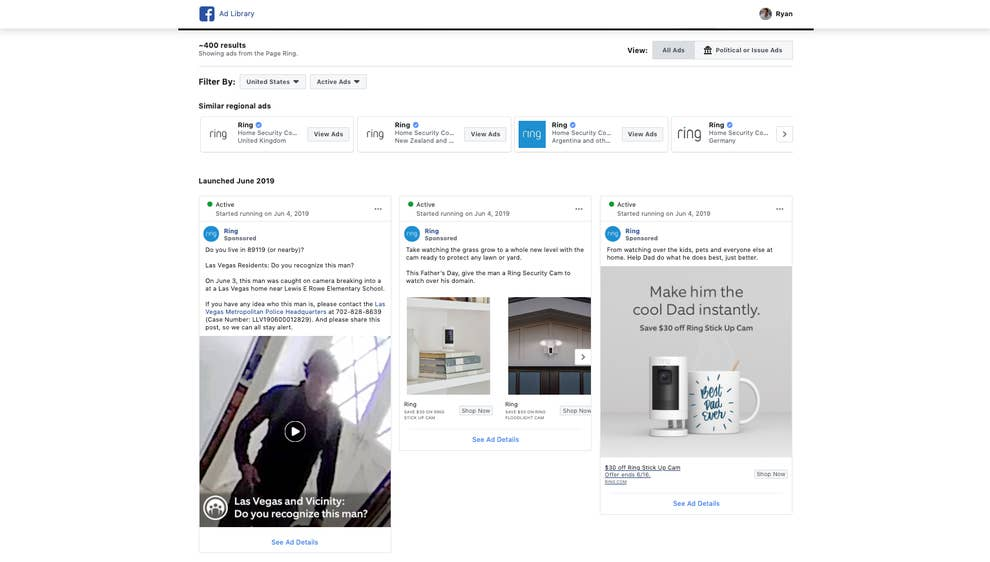 Ring Is Using Its Customers' Real Security Footage For Ads