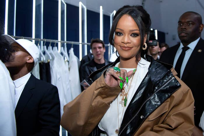 Her net worth is at an estimated $600 million and Rihanna is worth at LEAST that. Plus tax!