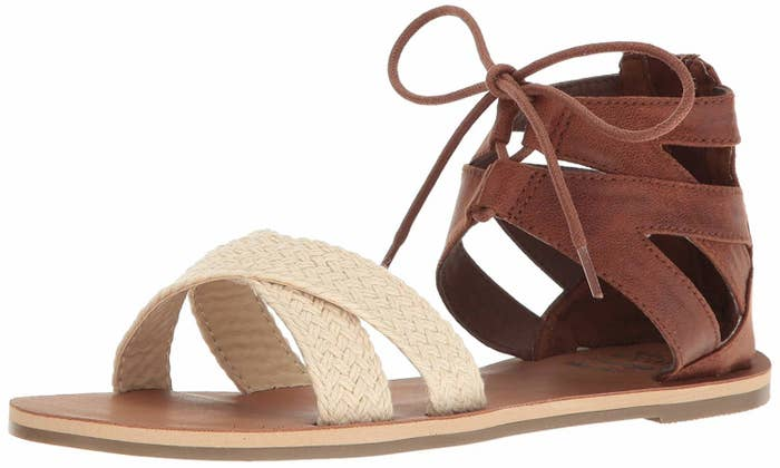"""Promising review: """"I get many compliments on these sandals. They go with practically anything!"""" —Karen EdmondsonGet them from Amazon for $22.50 (available in sizes 6–10 and two colors)."""