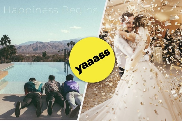 "We Can Guess Which Jonas Brothers Song From ""Happiness Begins"" Is Your Favorite Based On Your Wedding"