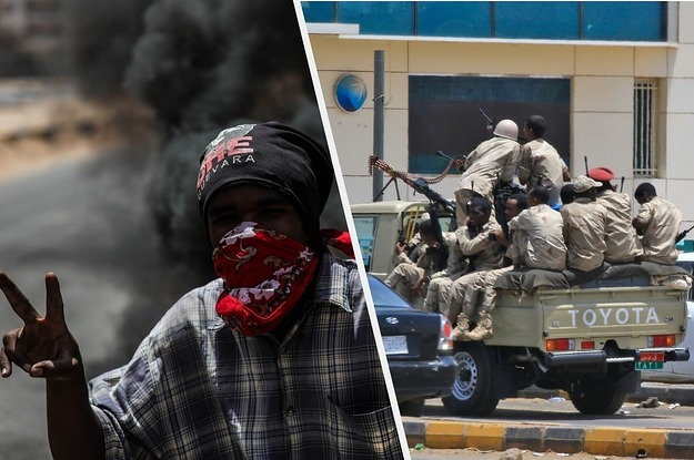 Sudan's Government Is Brutally Killing Protesters During An Internet Shutdown