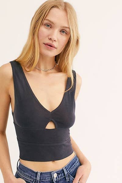 248cef7eb An open back tank with adjustable straps, meaning you can ~adjust~ the  sizing to ensure this fits like a literal glove. Things we love = clothing  that feels ...