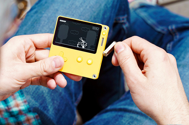 This New Handheld Gaming Device Is So Cute We Kinda Want To Smash It