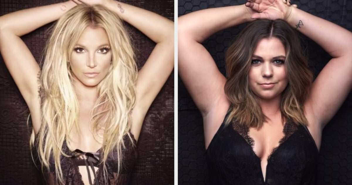 This YouTuber Is Recreating Iconic Celeb Photos To Promote Body Positivity, And It's Super Inspiring
