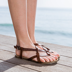 7955881b65f 29 Pairs Of Shoes That *Aren't* Heels To Wear With Summer Dresses