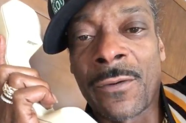 Snoop Dogg Trashed The Bottle Cap Challenge And I Agree With Every Single Thing He Said