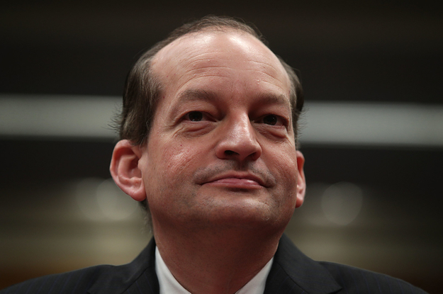 Alex Acosta Defended The Plea Deal That Put Jeffrey Epstein In Jail For Only 13 Months