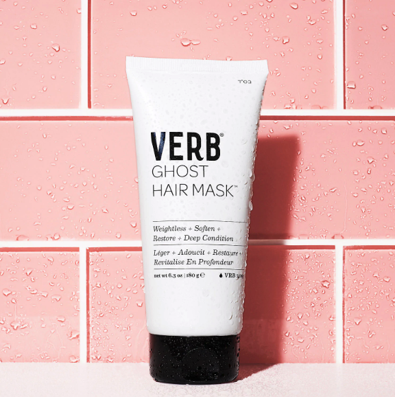 The tube of hair mask