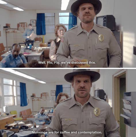 "29 Times Hopper Was The Best Damn Part Of ""Stranger Things"""