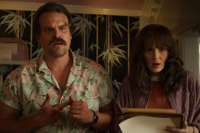 "Raise Your Hand If You'd Let Hopper From ""Stranger Things"" Do Anything To You"