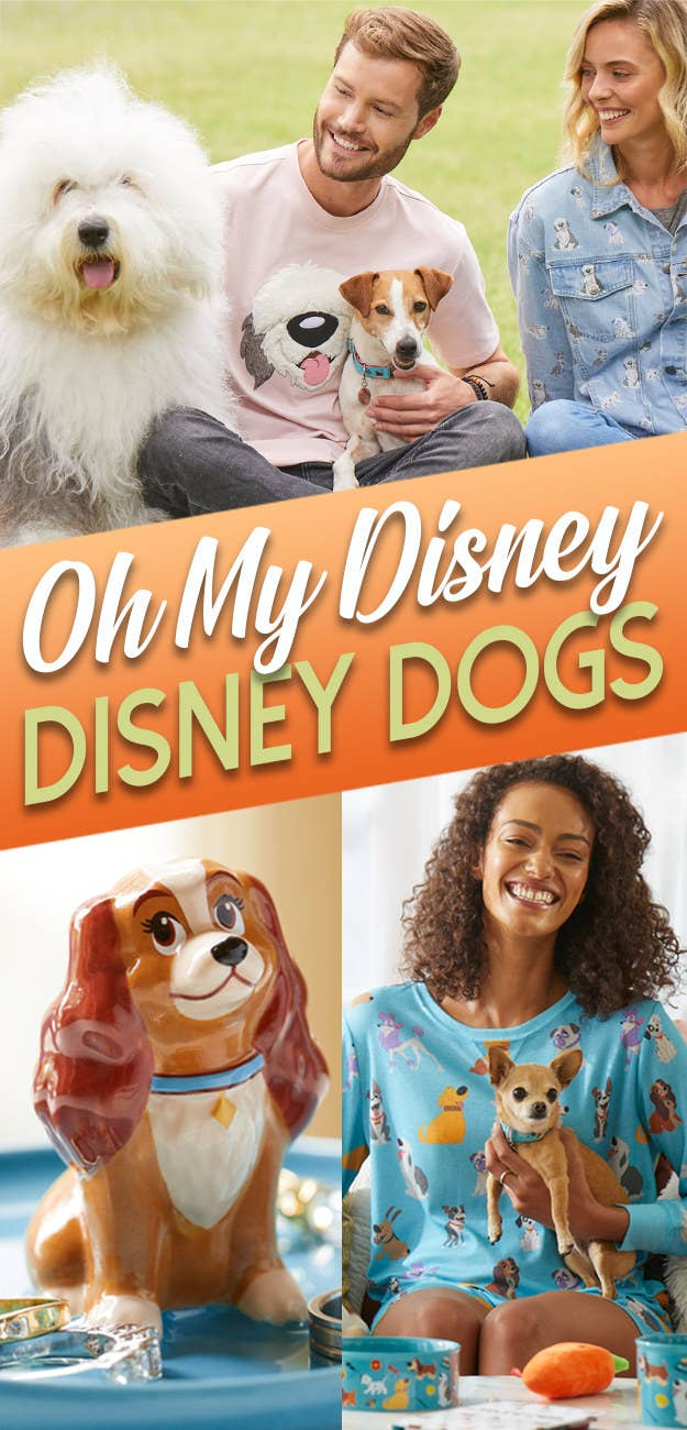 The Disney Store Just Launched A Disney Dogs Collection And It'll Make Every Doggo And Pupper's Tail Wag