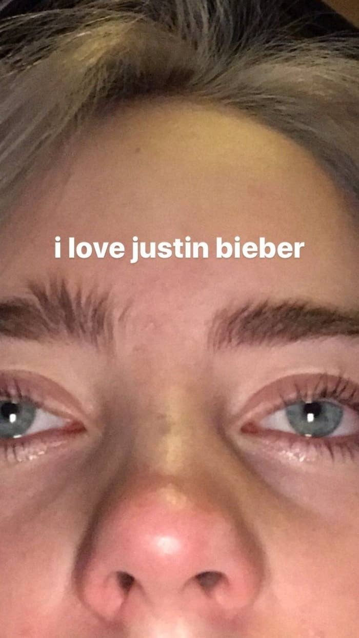 This Picture Proves How Much Billie Eilish Actually Loves Justin Bieber