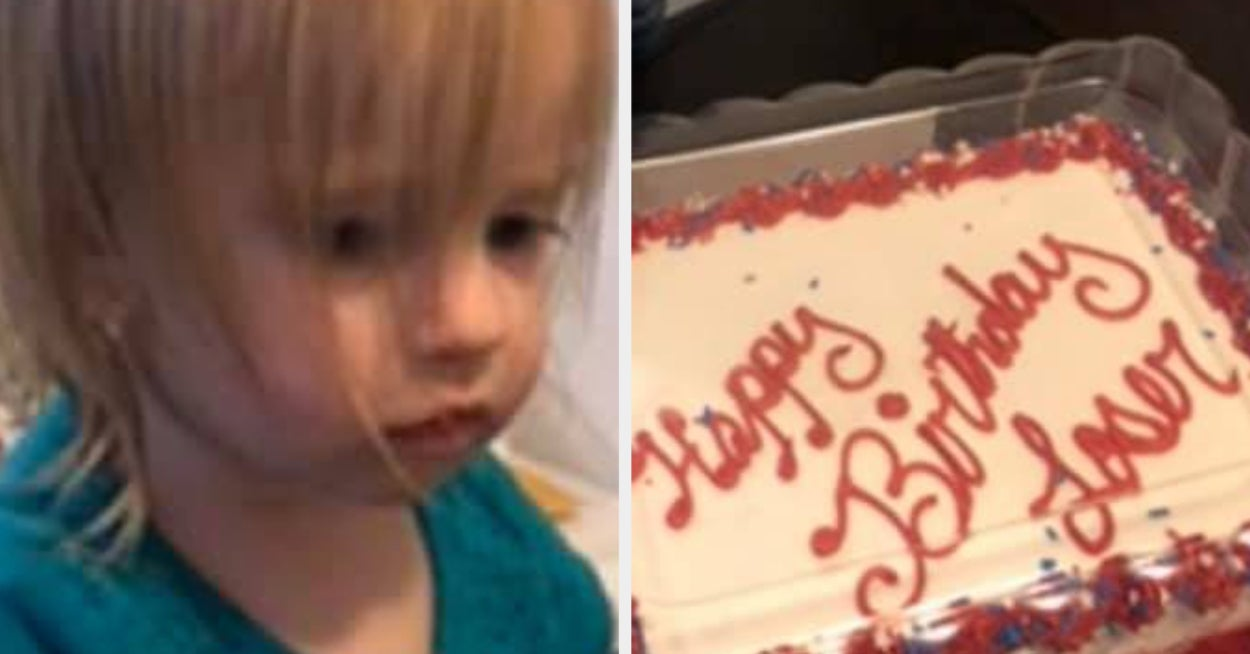 A Cake Decorator Misheard Instructions For A Little Girl's Birthday And I Am Dead At Her Reaction